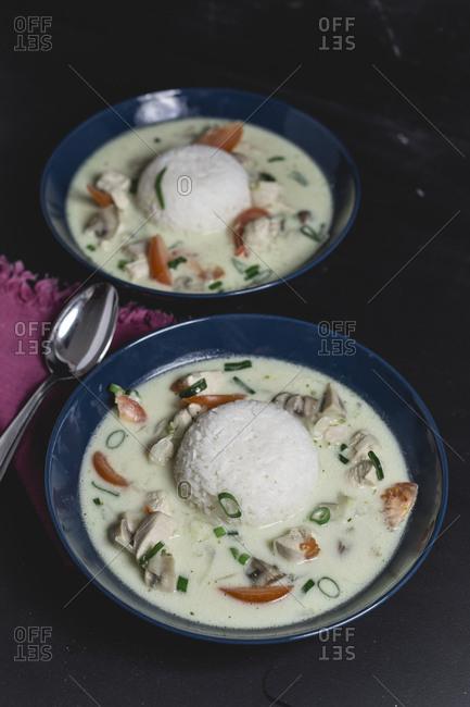Tom Ka Gai- Thai soup with chicken