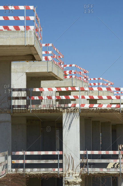 Construction site in Albufeira, Portugal