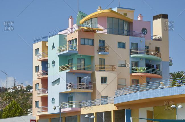 Art-deco apartments in Albufeira, Portugal