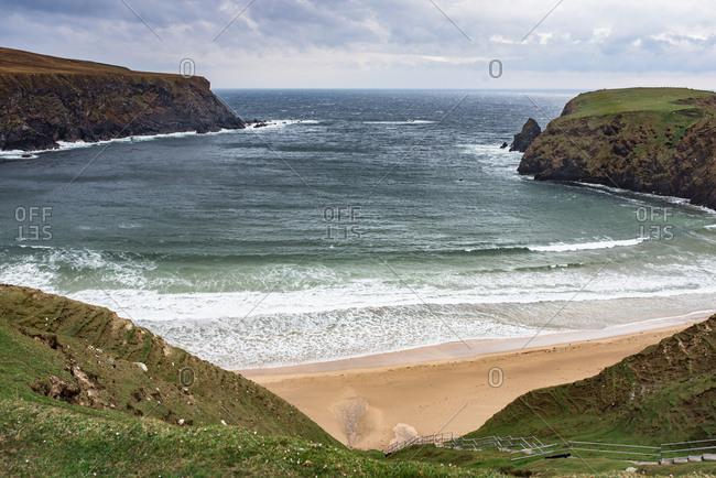 Malin Beg beach in Ireland