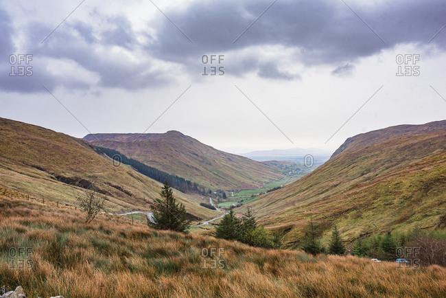Glenesh Pass in Ireland
