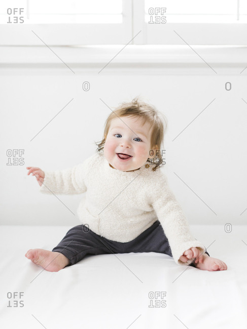 Smiling baby girl - Offset Collection