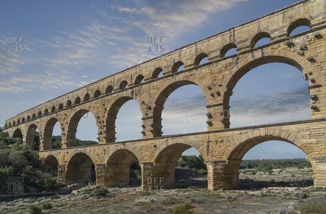 Pont du Gard in Vers-Pont-du-Gard, France