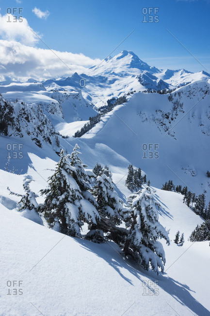 Mount Baker Ski Area in Washington State, USA