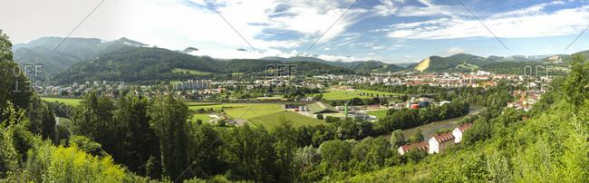 July 21, 2017: Austria- Styria- Leoben- townscape