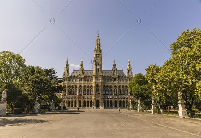 Austria- Vienna- Vienna City Hall