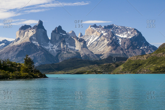 Chile- Patagonia- Torres del Paine National Park- Lake Pehoe
