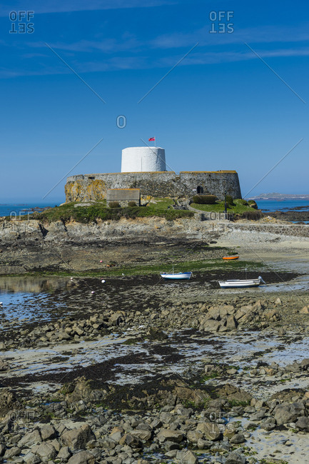 United Kingdom- Channel islands- Guernsey- Saint Pierre du Bois- Fort Grey Shipwreck Museum