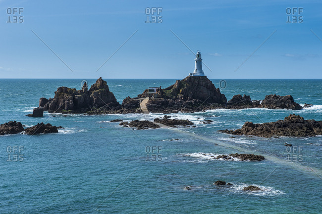 United Kingdom- Channel islands- Jersey- La Corbiere lighthouse