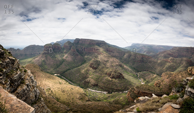 Mpumalanga Mountains in South Africa