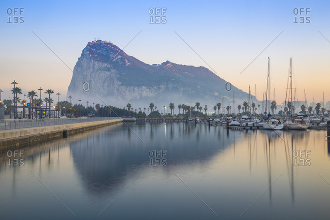 Gibraltar, View of Rock of Gibraltar