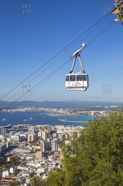 December 1, 2018: Gibraltar, Rock of Gibraltar, Cable car