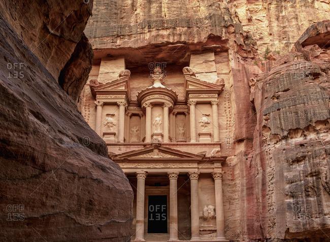 The Treasury, Al-Khazneh, Petra, Ma'an Governorate, Jordan
