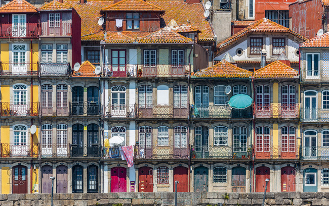 The Ribeira, Porto (Oporto), Portugal Europe