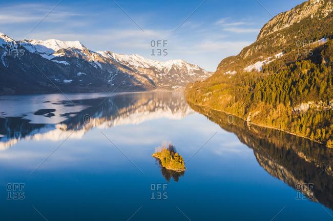 Lake Brienz, Interlaken-Oberhasli, Berner Oberland, canton of Bern, Switzerland