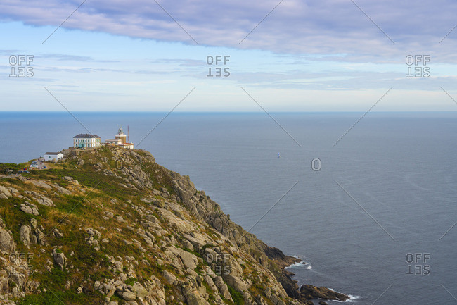 Spain, Galicia, Finisterre, Finisterre lighthouse