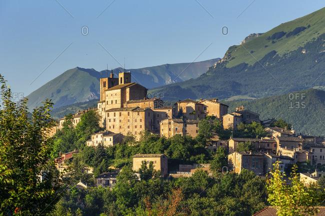 Italy, Marche. Macerata district. Sarnano