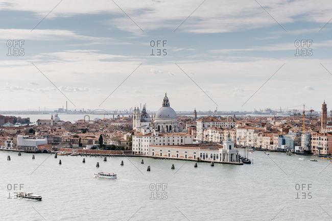 March 19, 2019: Views of Venice from the Basilica Di San Giorgio Maggiore
