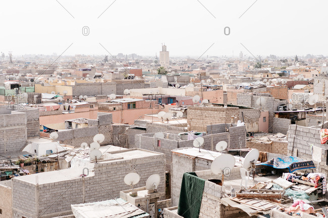 February 17, 2019: Skyline of Marrakech