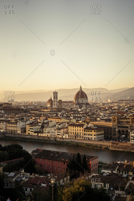 Sunset at Firenze, Italy
