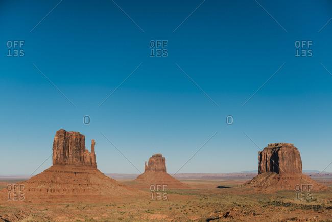 USA- Utah- Navajo Nation- Monument Valley