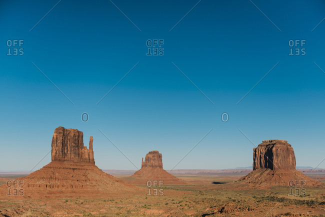 USA- Utah- Navajo Nation- Monument Valley