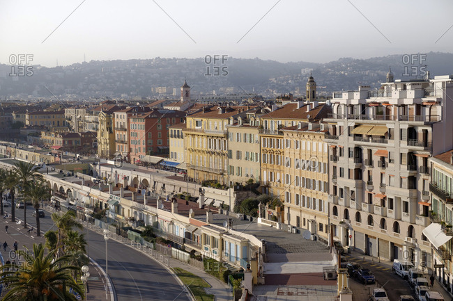 March 1, 2019: France- Provence-Alpes-Cote d'Azur- Nice- Promenade des Anglais
