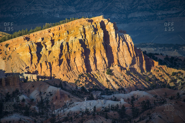 USA- Utah- Bryce Canyon National Park- sandstone formations