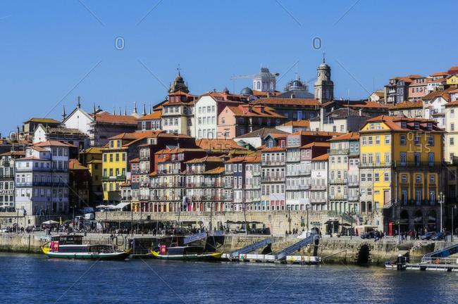 February 23, 2018: Portugal- Porto- city view