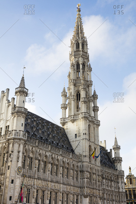 Belgium- Brussels- Town hall