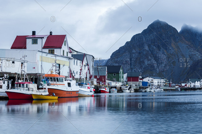 October 17, 2017: Norway- Lofoten Islands- Henningsvaer