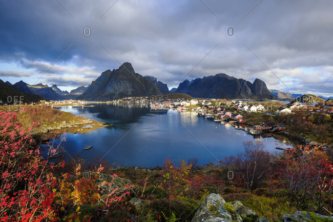 Norway- Lofoten Islands- Reine