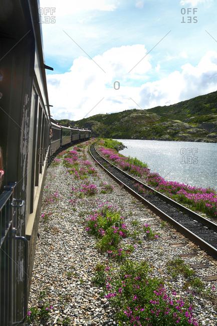 July 15, 2015: The train in Alaska