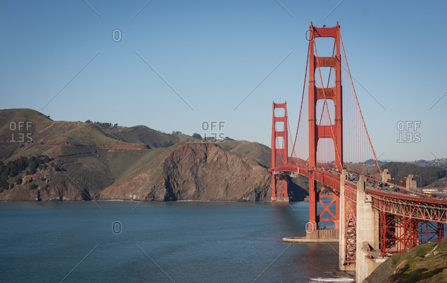 Beautiful photography of golden gate bridge on sunny day
