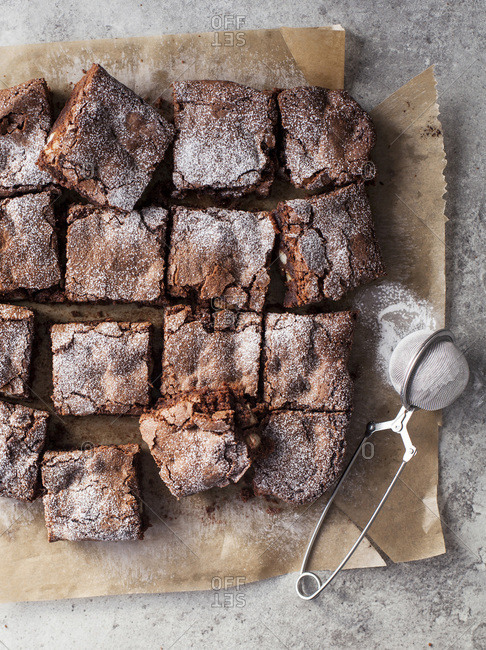 Chocolate and Macadamia Nut Brownies