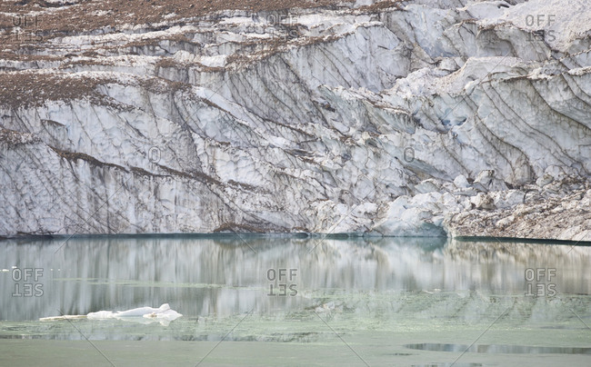 Canada, Alberta, Jasper National Park, Mountain Edith Cavell, Angel Gl