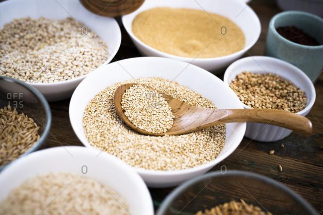 Quinoa and more