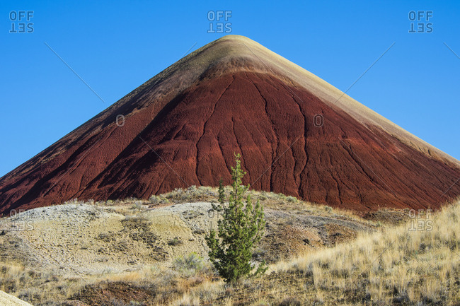 USA- Oregon- John Day Fossil Beds National Monument- Painted hills