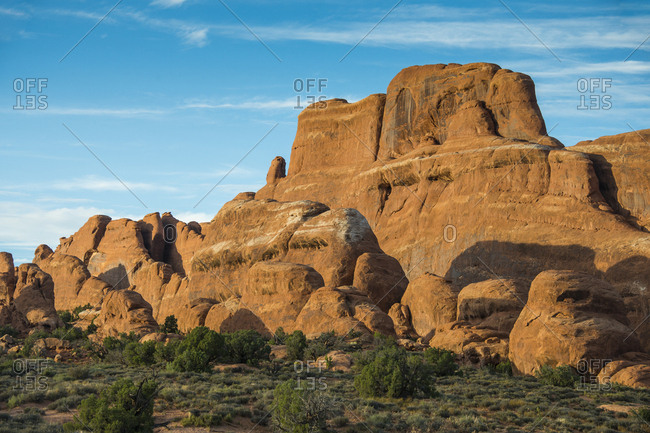 USA- Utah- Arches National Park- Fiery furnace