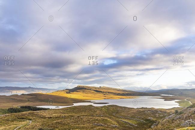 United Kingdom- Scotland- Isle of Skye- panoramic view