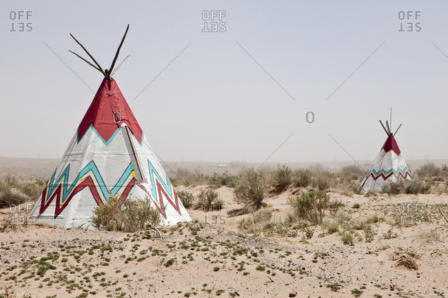 Native American Tipi Replicas