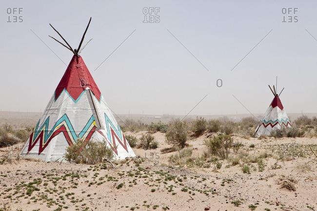 Native American Tipi Replicas