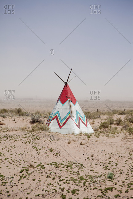 Native American Tipi Replica