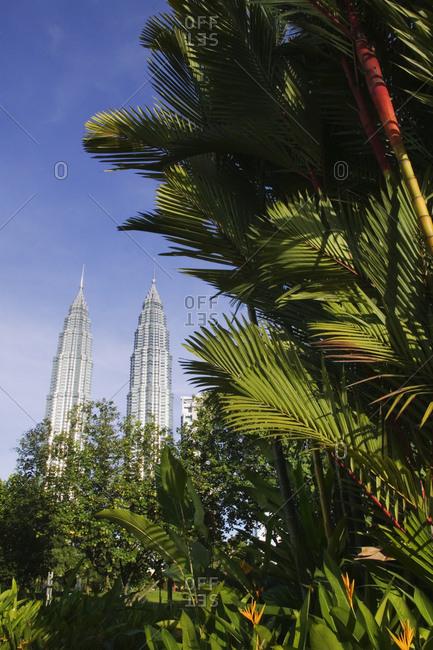 May 10, 2019: Petronas Towers, Kuala Lumpur, Malaysia