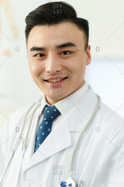 Male doctors in the office