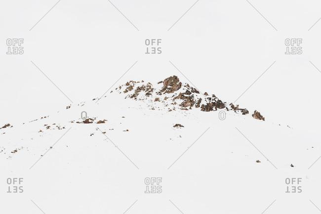 Snow covered mountain in Sun Valley, Idaho