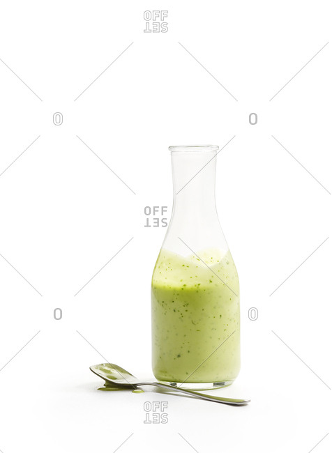 Wasabi avocado dressing