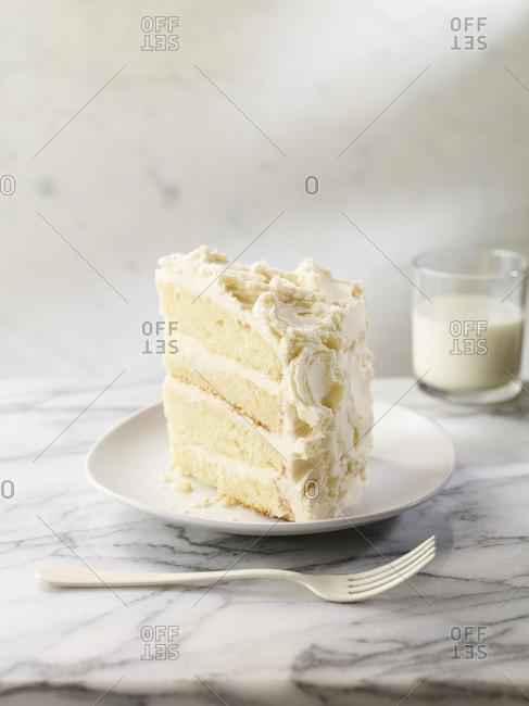 Vanilla layer cake