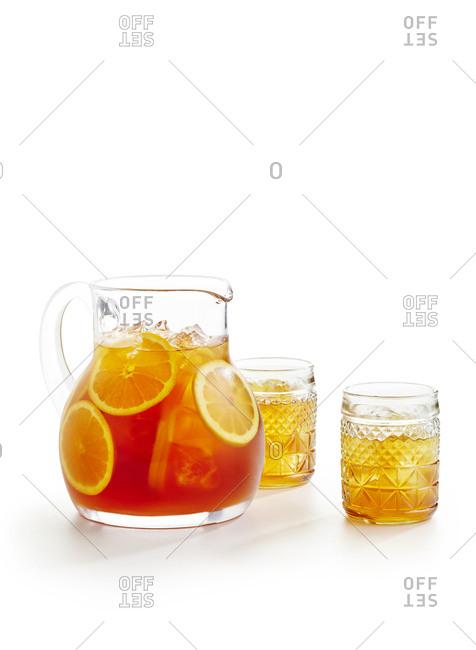 Wasabi iced tea