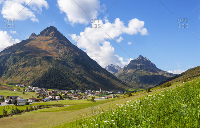September 10, 2018: Austria- Tyrol- Paznaun Valley- Galtuer- Silvretta